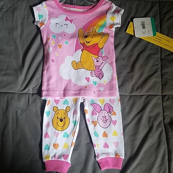 4ab24bef3497 Nwt Disney winnie the pooh girl pajamas